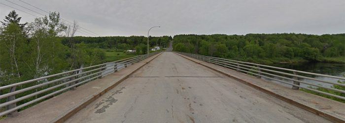 Blackville's Southwest Miramichi River Bridge No. 2 Closure
