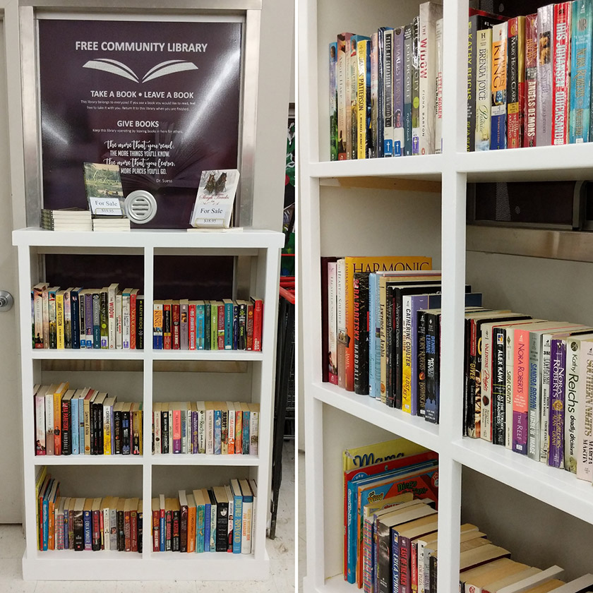 Free Community Library at Blackville Foodland