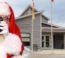 Portraits with Santa at Blackville Community Centre