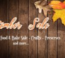 VENDORS WANTED FOR FALL YARD/BAKE SALE AND COMMUNITY MARKET