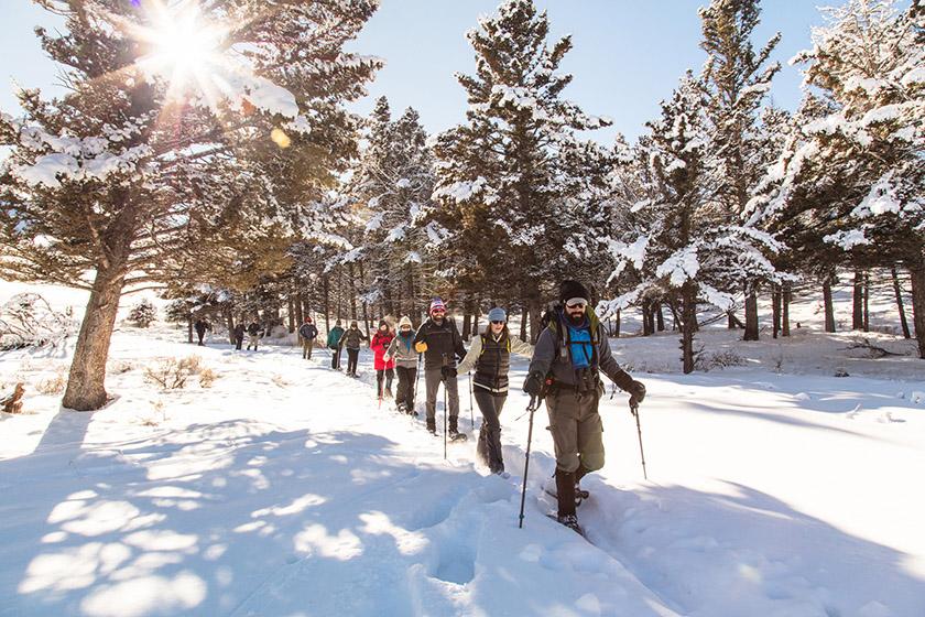 Weekly Evening Snowshoeing Begins January 21