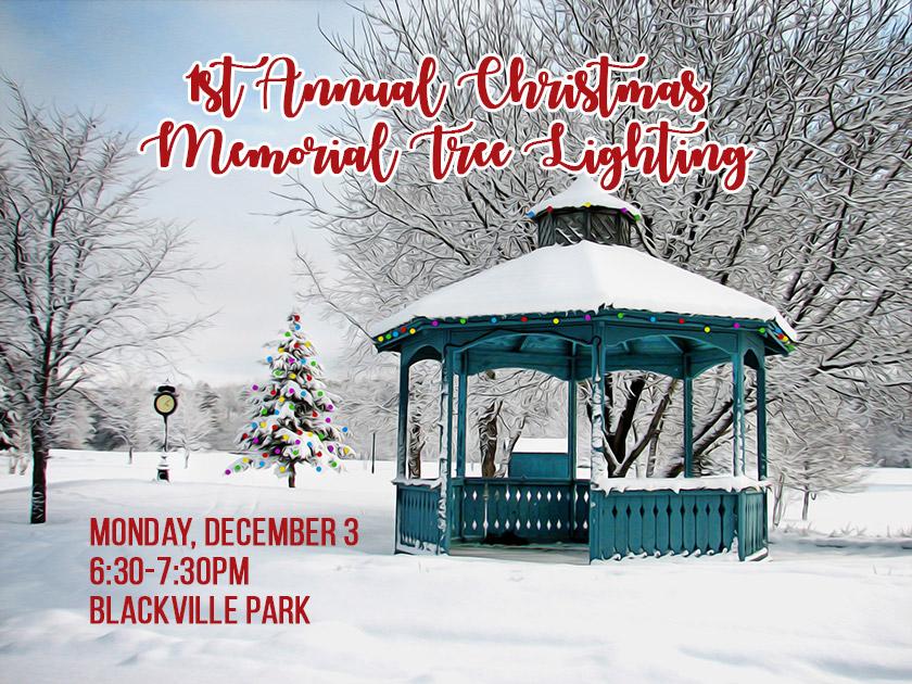 1st Annual Christmas Memorial Tree Lighting